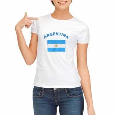 Argentijnse vlag t-shirt voor dames