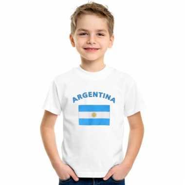 Argentijnse vlag t-shirts voor kinderen