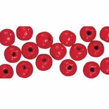 Armbandjes rijgen 115 rode kralen