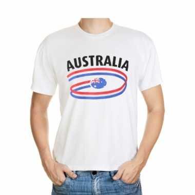 Australie t-shirt met vlaggen print