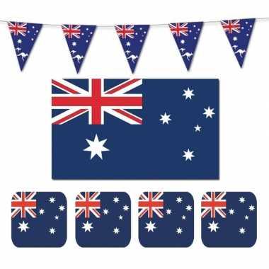 Australische decoraties versiering pakket