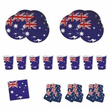 Australische tafel decoraties pakket