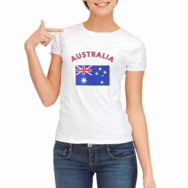 Australische vlag t-shirt voor dames
