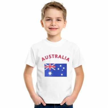 Australische vlag t-shirts voor kinderen