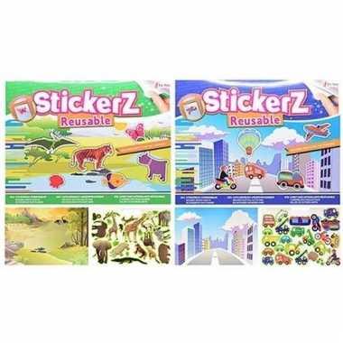 Auto stickerboekjes voor jongens