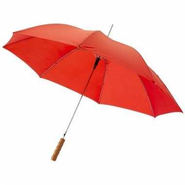Automatische rode paraplu 82 cm