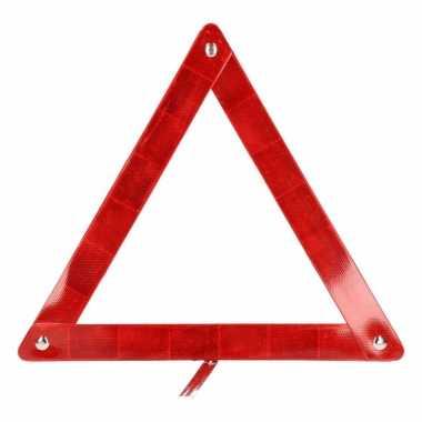 Autopech artikelen gevaren driehoek