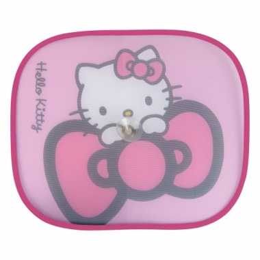 Autoraam schermen hello kitty