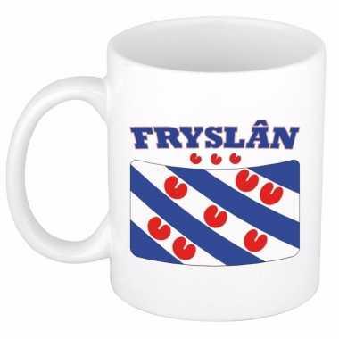 Beker / mok met vlag van friesland 300 ml