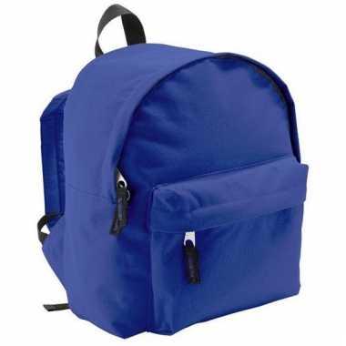 Blauwe rugzak voor kinderen 9 liter
