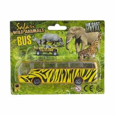 Bussafari speelgoed auto giraf print