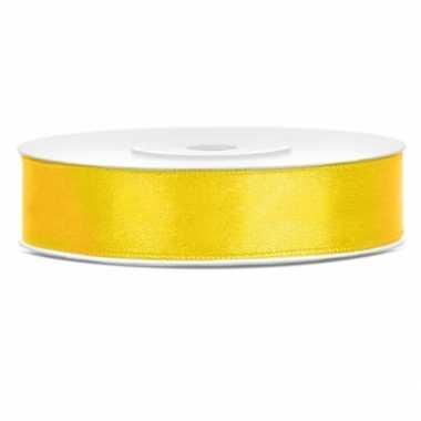 Cadeaulint geel 12 mm