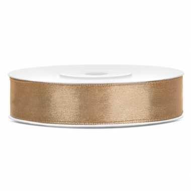 Cadeaulint goud 12 mm