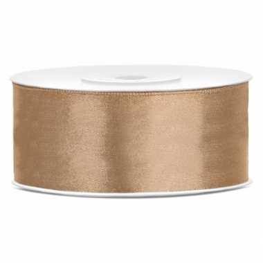 Cadeaulint goud 25 mm