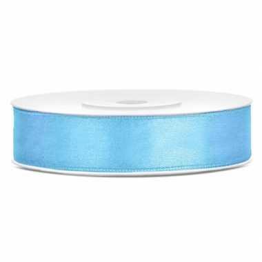 Cadeaulint lichtblauw 12 mm