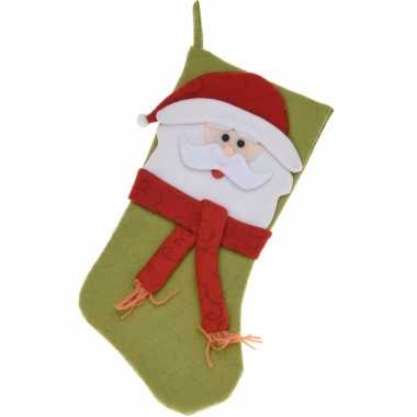Cadeausok met kerstman 50 cm