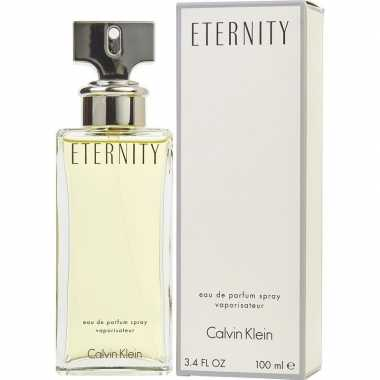 Calvin klein eternity edp 100 ml geurtje