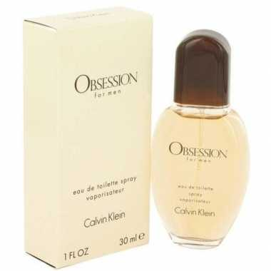 Calvin klein obsession men edt30 ml geurtje