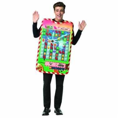 Candy crush kostuum voor volwassenen