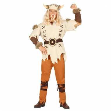 Carnaval kostuum viking 6 delig voor mannen
