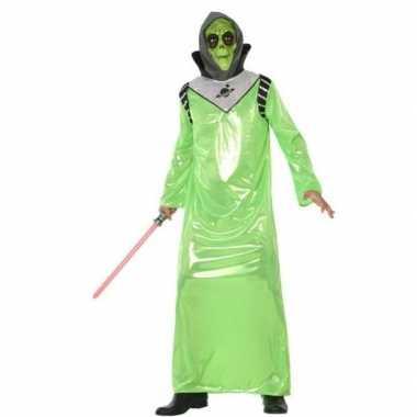 Carnavalskleding alien/buitenaards wezen voor volwassenen