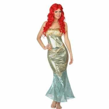 Carnavalskleding ariel zeemeermin voor dames