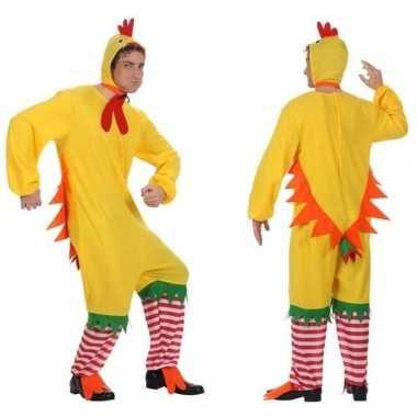 Carnavalskleding haan/kip/kuiken voor heren