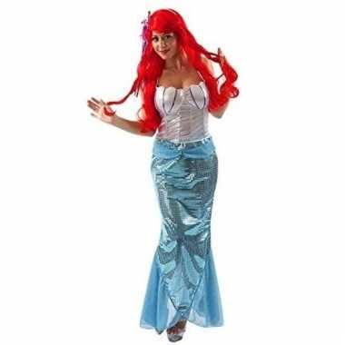 Carnavalskleding kleine zeemeermin voor dames