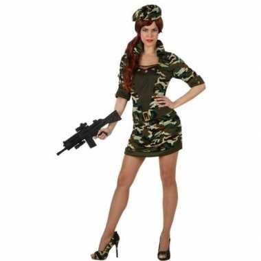 Carnavalskleding soldaat/militair voor dames