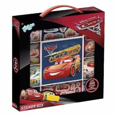 Cars 3 sticker box 14 vellen