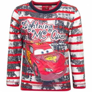 Cars longsleeve mc queen rood