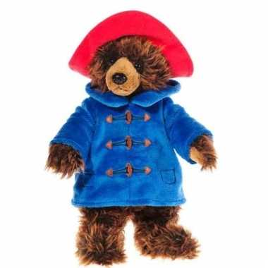 Cartoon knuffel teddybeer paddington 25 cm