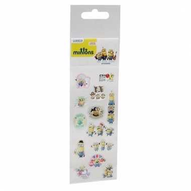 Cartoon stickers minions 13 stuks