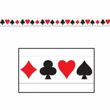 Casino decoratie lint 6 meter