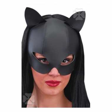 Catwoman masker leder look
