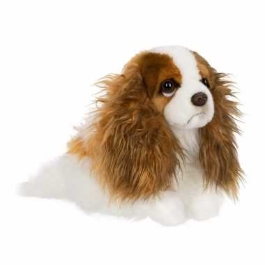 Cavalier king charles spaniel knuffel hondje 26 cm