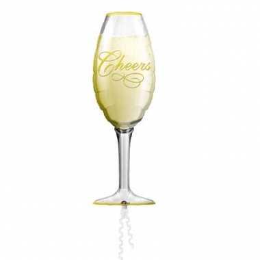 Champagne glas folie ballon