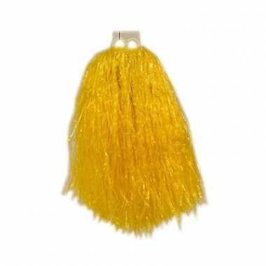 Cheerballs geel 33 cm