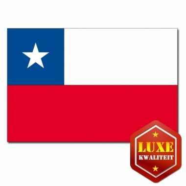 Chileense vlaggen goede kwaliteit