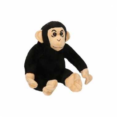 Chimpansee knuffeldier 14 cm