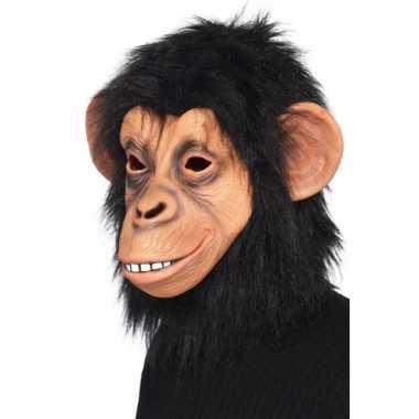 Chimpansee masker van latex