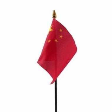 China vlaggetje polyester