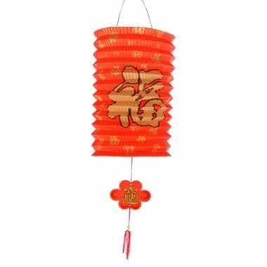 Chinese geluk lampionnen 20 cm
