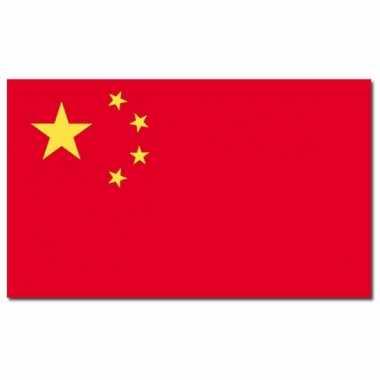 Chinese vlag 90 x 150 cm