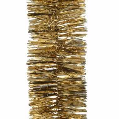 Chique christmas kerstboom decoratie slinger goud 270 cm