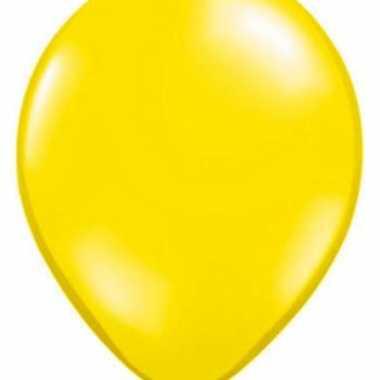 Citroen geel qualatex ballonnen