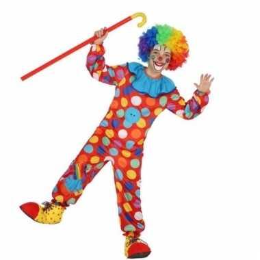 Clown dots verkleedkleding voor jongens