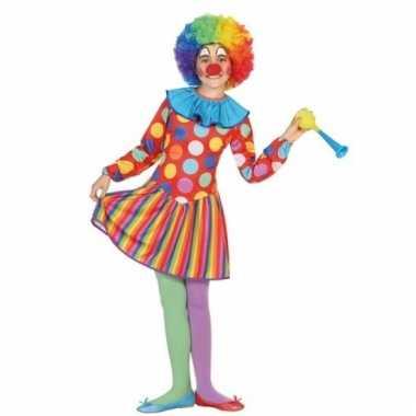 Clown dotty verkleedjurk voor meisjes