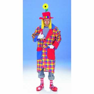 Clown jas geruit