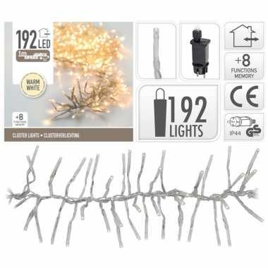 Cluster boomverlichting warm wit 192 lampjes